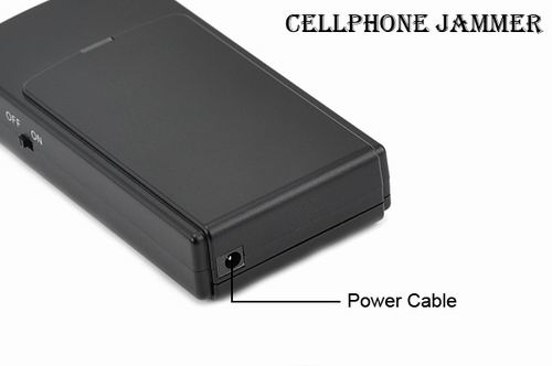 A cell phone jammer - Phone No More - Mini Cellphone Signal Jammer (GSM,DCS,CDMA,3G)