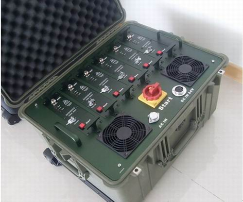 Wholesale 320W High Power GPS,WIFI & Cell Phone Multi Band Jammer (Waterproof & shockproof design)