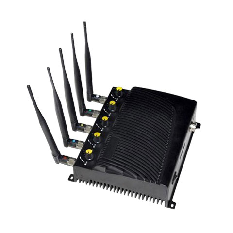 Wholesale Adjustable Cell phone GPS WiFi jammer -US