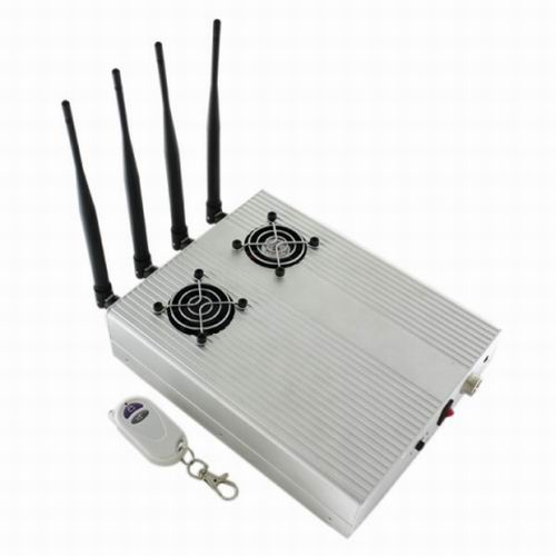 Wholesale New Style High Power Desktop Cell Phone Jammer - CDMA/3G/GSM Blocker with 2 Cooler Fans