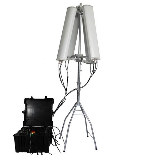 Wholesale 600W 4-8bands High Power Drone Jammer Jammer up to 2500m
