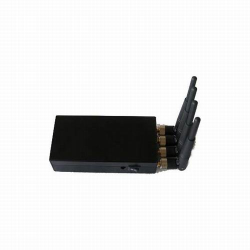 Wholesale Portable High Power 4W Mobile phone signal Jammer (CDMA,GSM,DCS,PHS,3G)