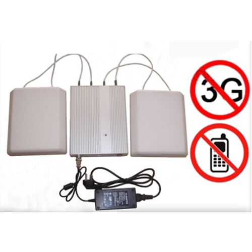 Wholesale 5 Band Cellphone WIFI signal Jammer with Remote Control+Directional Antennas